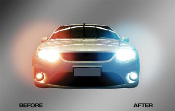 Autotecnica HID MAX H7 High Beam Lights for Ford BA BF & FG Series 1 Falcon