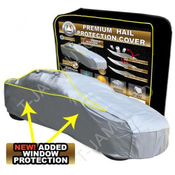 Hail Storm Protection Car Cover up to 4.44m Medium Side Window Protection